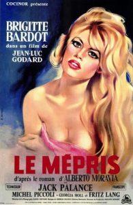 Affiche du mépris (Godard)