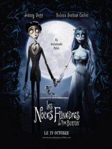 Affiche du film d'animation Noces funèbres