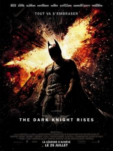 Affiche du film the dark Knight rises