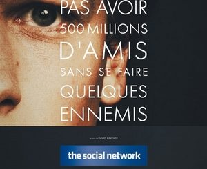 Affiche du film The social network